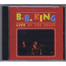 B.B. KING Live at The Regal (MCA 116462) USA 1997 release of 1994 recording CD