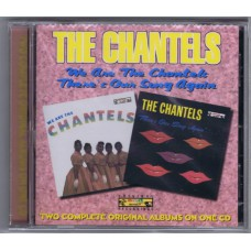 CHANTELS We Are The Chantels / There's Out Song Again (West Side WESM 564) 1998 CD release of 1958 and 1962 CD