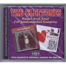 CLEFTONES Heart and Soul / For Sentimental Reasons (West Side WESM 546) UK 1961 two originals on one CD