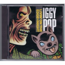 IGGY POP Livin' On The Edge Of The Night (Virgin VOZEPCD002) Australia 1990 EP CD