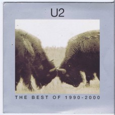 U2 The Best Of 1990-2000 (Island 063-437-9) EU Promo only 4 tracks 2002 DVD