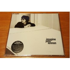 JOHN LENNON Imagine (Parlophone CDR 6534) UK 1999 Enhanced CD of 1972 recordings incl. video!