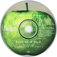 BEATLES Free As A Bird (Apple DPRO-11153) One Track 1995 PROMO CD