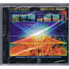 TANGERINE DREAM What A Blast - Architecture In Motion (Original Motion Picture Soundtrack) (TDI Music – TDI CD015) Germany 1999 CD