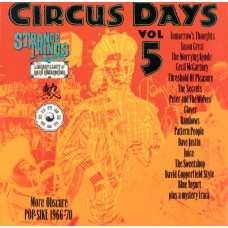 Various CIRCUS DAYS Nr. 04 and 05 (Strange Things BAMVP1003CD / 604388438426) UK 1998 CD