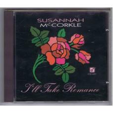 SUSANNAH MCCORKLE I'll Take Romance (Concord CCD 4491) Germany 1992 CD