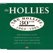 HOLLIES 30th Anniversary 1963-1993 (EMI Records Ltd. 7243 8 80533 2 7) UK 1993 4-track CD