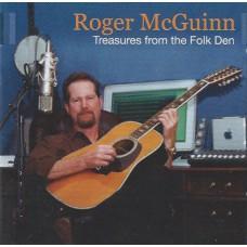 ROGER MCGUINN Treasures From The Folk Den (Hypertension 1210 HYP) Germany 2002 CD