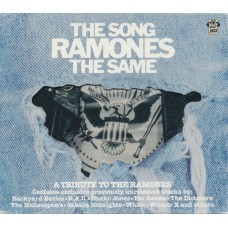 Various THE SONG RAMONES THE SAME (A Tribute To The Ramones) (White Jazz Records JAZZ533CD) Sweden 2002 Enhanced CD