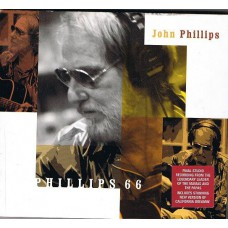 JOHN PHILLIPS Phillips 66 (Eagle Records ‎– EAGCD170) EU 2001 CD (Mamas and Papas)