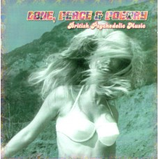 Various LOVE, PEACE & POETRY (British Psychedelic Music) (Q.D.K. Media CD 041) Germany 2001 CD