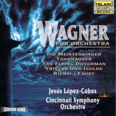 WAGNER Wagner For Orchestra (Telarc CD-80379) USA 1994 CD
