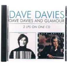 DAVE DAVIES Dave Davies (aka AFL1-3603) / Glamour (Mau Mau Records MAUCD 617) France 1980/81 CD