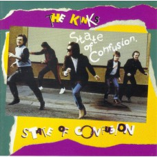 KINKS State Of Confusion (Konk ‎– 63467-79731-2 / 634677973123) USA 1983 LP (+Bonus)