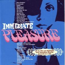 Various IMMEDIATE PLEASURE (Castle Music CMDDD 425) UK mid-60s CD