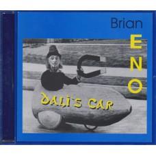 BRIAN ENO Dali's Car (Lubek 001) Germany CD (+sticker)