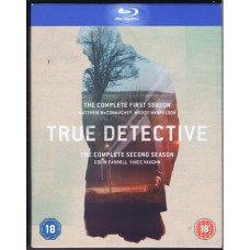 TRUE DETECTIVE complete 1st and 2nd season | UK blu-ray DVD boxset