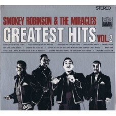 SMOKEY ROBINSON AND THE MIRACLES Greatest Hits Vol.2 (Tamla Motown 280) USA 1967 LP