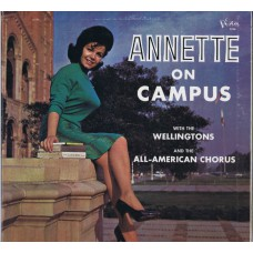 ANNETTE On Campus (Buena Vista BV 3320) USA 1964 mono gatefold LP