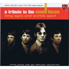 Various A TRIBUTE TO THE SMALL FACES / Long Agos and Worlds Apart (Nice Nyce 1/LP) UK 1996 LP