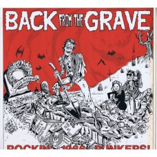 Various BACK FROM THE GRAVE Vol.1 (Crypt CR 66001) France 1984 LP