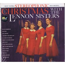 LENNON SISTERS Christmas with The Lennon Sisters (DOT DLP 25343) USA 1960 stereo LP