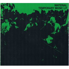 MATERIAL Temporary Music LP (Base RS 12000) Italy 1981 compilation LP