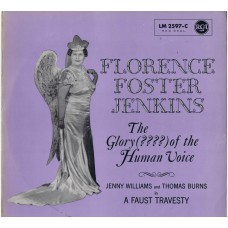 FLORENCE FOSTER JENKINS The Glory (????) Of The Human Voice (RCA LM 2597-C) Germany 1962 LP