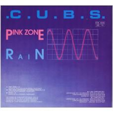 """C.U.B.S. Pink Zone / Pink Zone / Rain (Fünfundvierzig 05) Germany 1985 12"""" EP"""