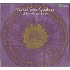 MICHAEL VETTER Overtones (Voice & Tambura) (Wergo SM 1038/39) Germany 1983 2LP-set