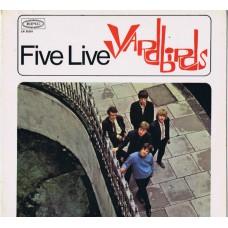 YARDBIRDS Five Live Yardbirds (Epic LN 26201) Germany 1965 mono LP