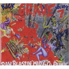 Various BACK FROM THE GRAVE Vol.7 (Crypt CR 013 / 4016022100136) USA 1984 2LP-set