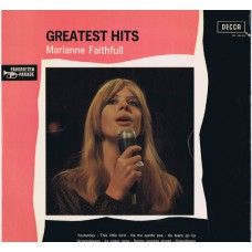 MARIANNE FAITHFULL Greatest Hits (Decca XBL 646 004) Holland 1968 LP