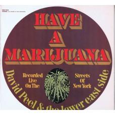 DAVID PEEL AND THE LOWER EAST SIDE Have A Marijuana (Elektra EKS 74032) USA 1968 LP