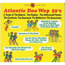 Various ‎ATLANTIC DOO WOP 50'S (Atlantic P-6186A) Japan 1980 compilation LP (no OBI)