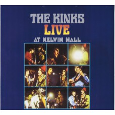 KINKS Live At Kelvin Hall (Pye CMHLP012) UK 2000 re. of 1967 LP