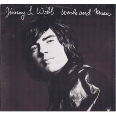 JIMMY L. WEBB Words and Music (Reprise Records ‎– RSLP 6421) UK 1970 LP