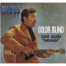 "DAVE ALLEN ""THE MAN"" Color Blind (International Artists IA LP11) USA 1969 PROMO LP"