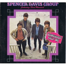 SPENCER DAVIS GROUP Featuring Steve Winwood – Somebody Help Me (Island 85 925) Holland 1972 LP