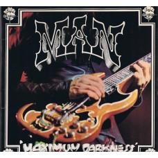 MAN Maximum Darkness (United Artists Records UAG 29872) UK 1975 gatefold LP