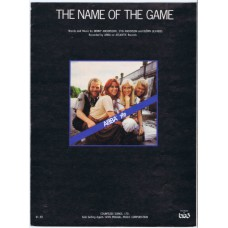 ABBA The Name Of The Game | USA 1977 sheet music (6 pages)