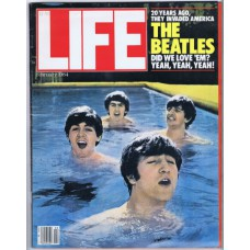 Life Magazine: BEATLES 20 Years Ago, They invaded America (Life Magazine February 1984) USA 1984 magazine