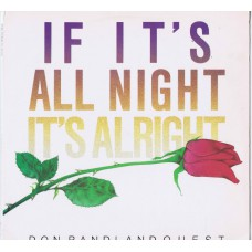 DON RANDI AND QUEST If It's All Night It's Alright (Bee Pee 8403) USA 1984 LP (Wrecking Crew)