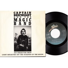 CAPTAIN BEEFHEART Ice Cream For Crow (Epic) USA 1982 PS 45
