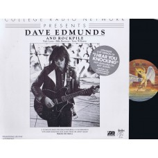 DAVE EDMUNDS and ROCKPILE 30 Minute Radio Program (Atlantic) USA LP