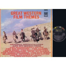 GREAT WESTERN FILM THEMES Soundtrack (United Artists) Germany LP