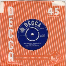 ROLLING STONES 19th Nervous Breakdown / As Tears Go By (Decca 12331) UK 1966 45