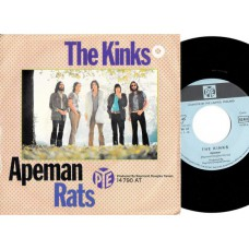 KINKS Apeman / Rats (PYE 14790) Germany 1970 PS 45