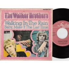 WALKER BROTHERS Walking In The Rain (Star-Club) Germany 1967 PS 45