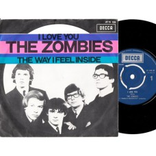 ZOMBIES I Love You / The Way I Feel Inside (Decca 15106) Holland 1965 PS 45